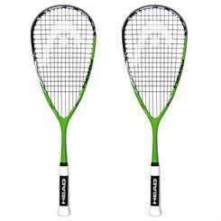 Head YouTek IG Tour 120 Squash Racket Double Pack