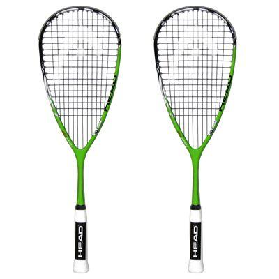 Head YouTek IG Tour 120 Squash Racket - Double Pack