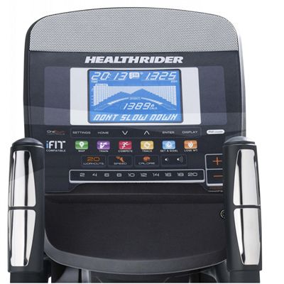 HealthRider 950 Elliptical Cross Trainer - Console