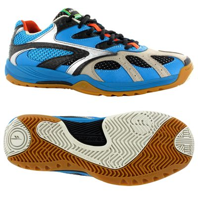 Hi-Tec Ad Pro Elite Mens Court Shoes-Blue and Black