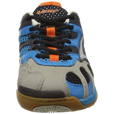 Hi-tec Ad Pro Elite Mens Court Shoes - Blue/Side