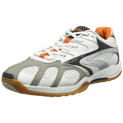Hi-tec Ad Pro Elite Mens Court Shoes - White/Angled