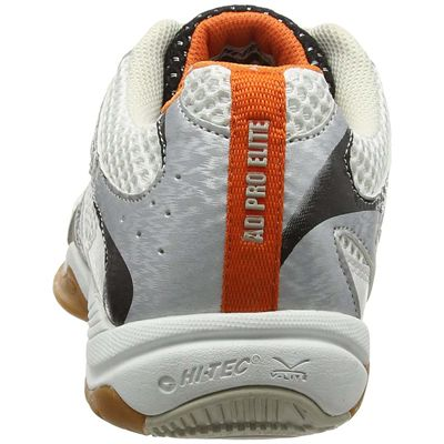 Hi-tec Ad Pro Elite Mens Court Shoes - White/Back