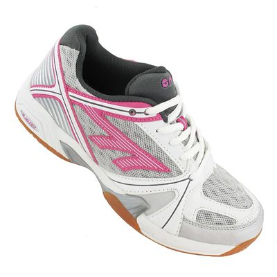 Hi-Tec Indoor Lite Ladies Court Shoes - Angle View