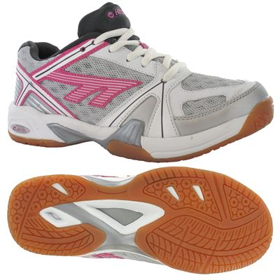 Hi-Tec Indoor Lite Ladies Court Shoes - Main Image