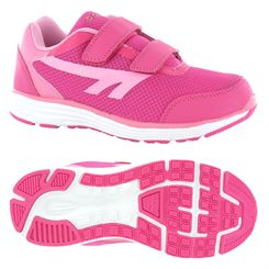 Hi-Tec Pajo EZ Girls Velcro Running Shoes