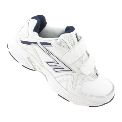 Hi-Tec R156 EZ Leather Boys Running Shoes - Angle View