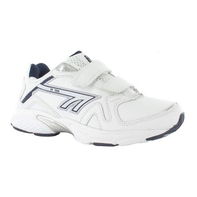 Hi-Tec R156 EZ Leather Boys Running Shoes - Side View