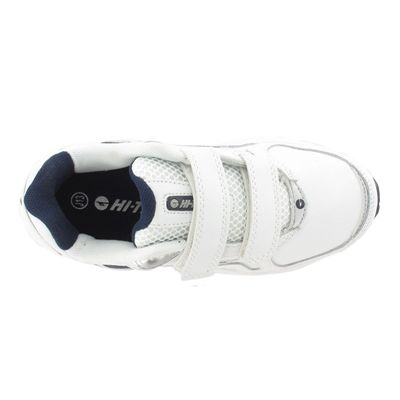 Hi-Tec R156 EZ Leather Boys Running Shoes - Top View