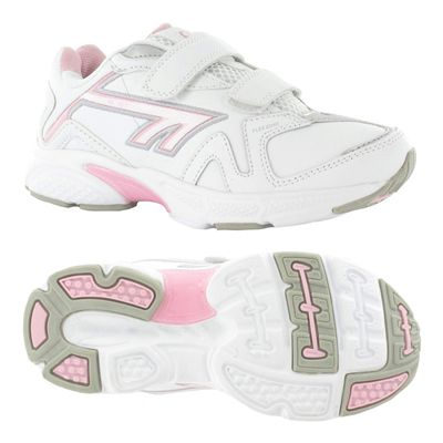 Hi-Tec R157 EZ Leather Girls Running Shoes