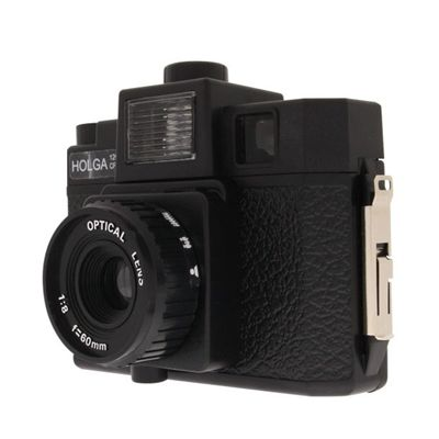 Holga Camera Starter Kit - Side View