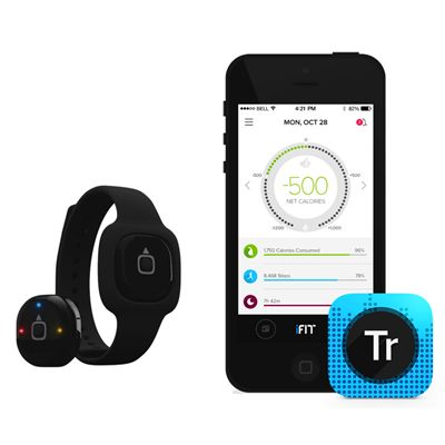 iFit Act Fitness Activity Tracker Application