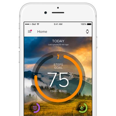 iFit Link Fitness Activity Tracker App