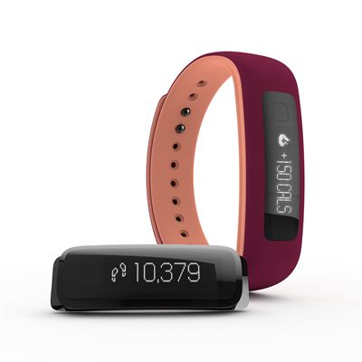 iFit Vue Fitness Tracker-Purple-Orange