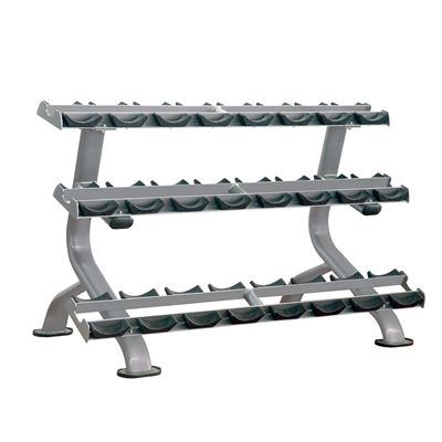 Impulse Elite 3 Tier Dumbbell Rack 12 pair
