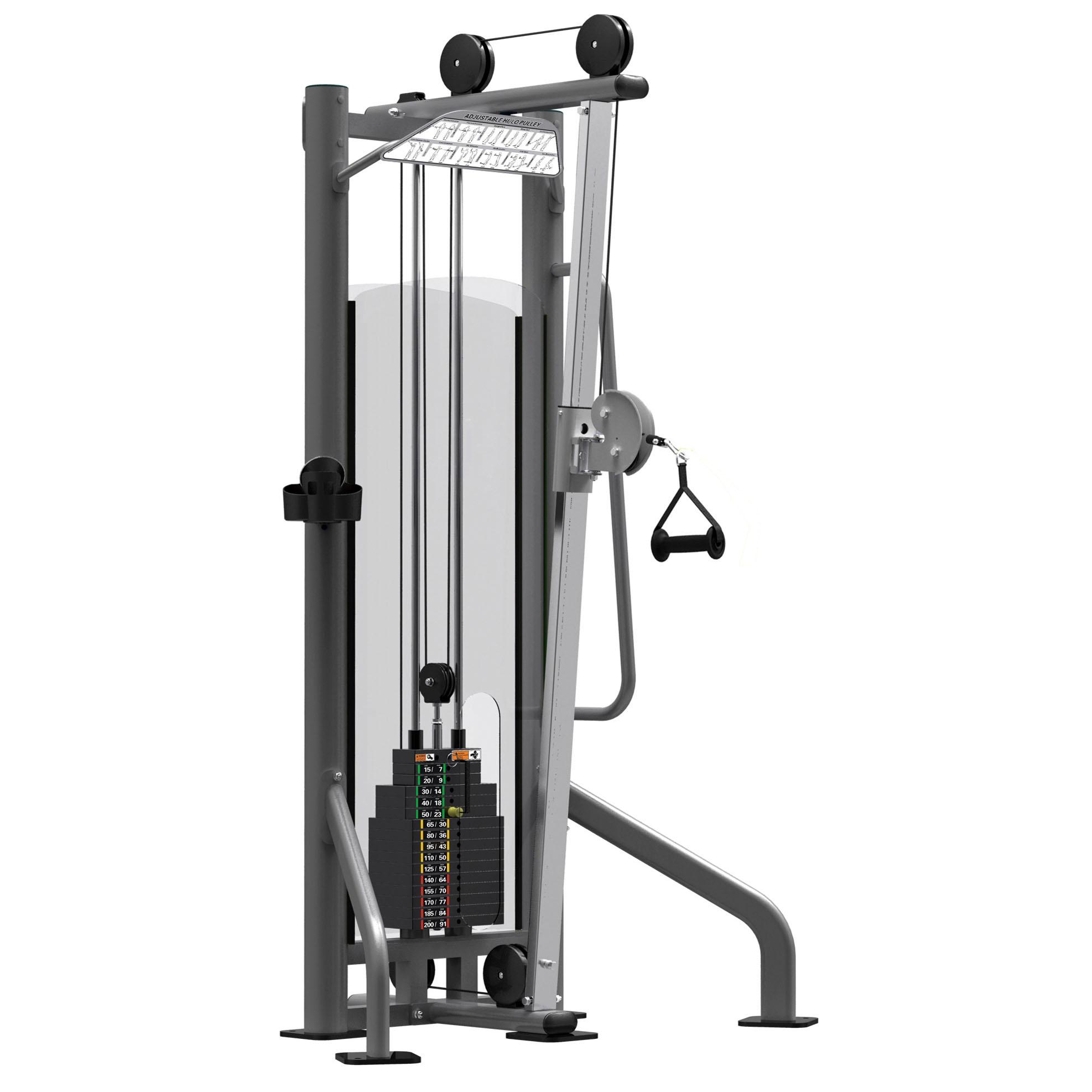 Adjustable Pulleys : Impulse zone dual adjustable pulley station