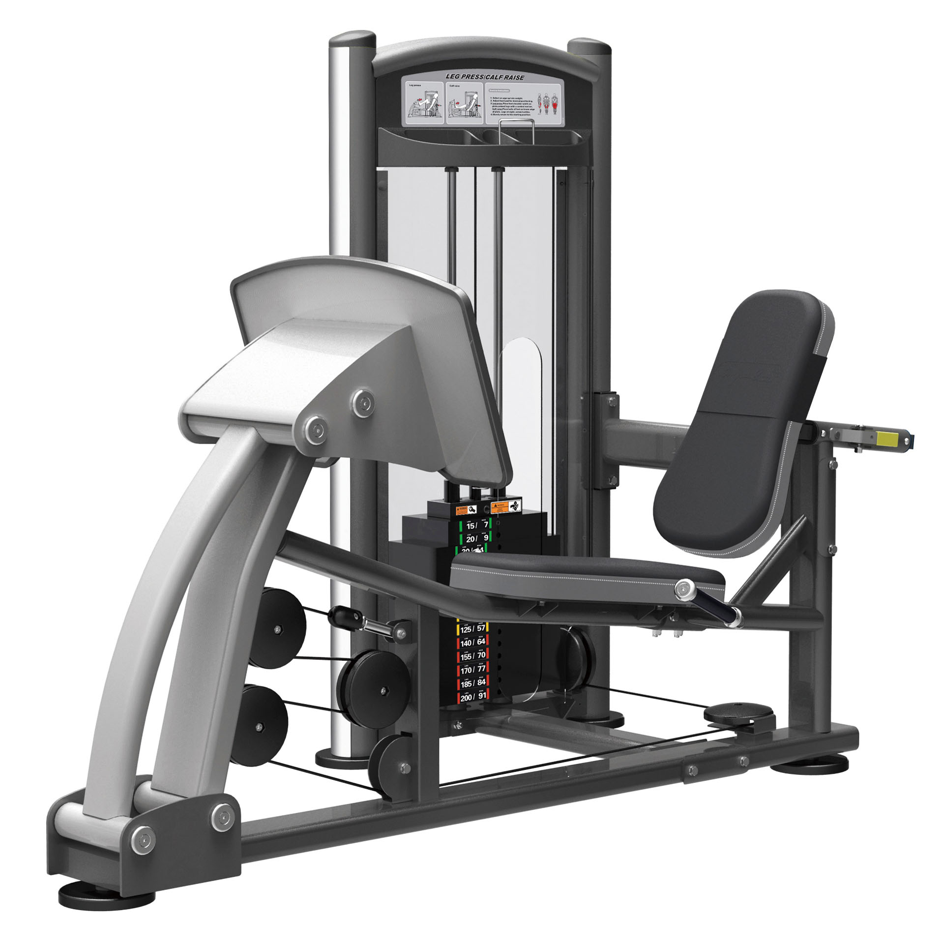 york leg press machine