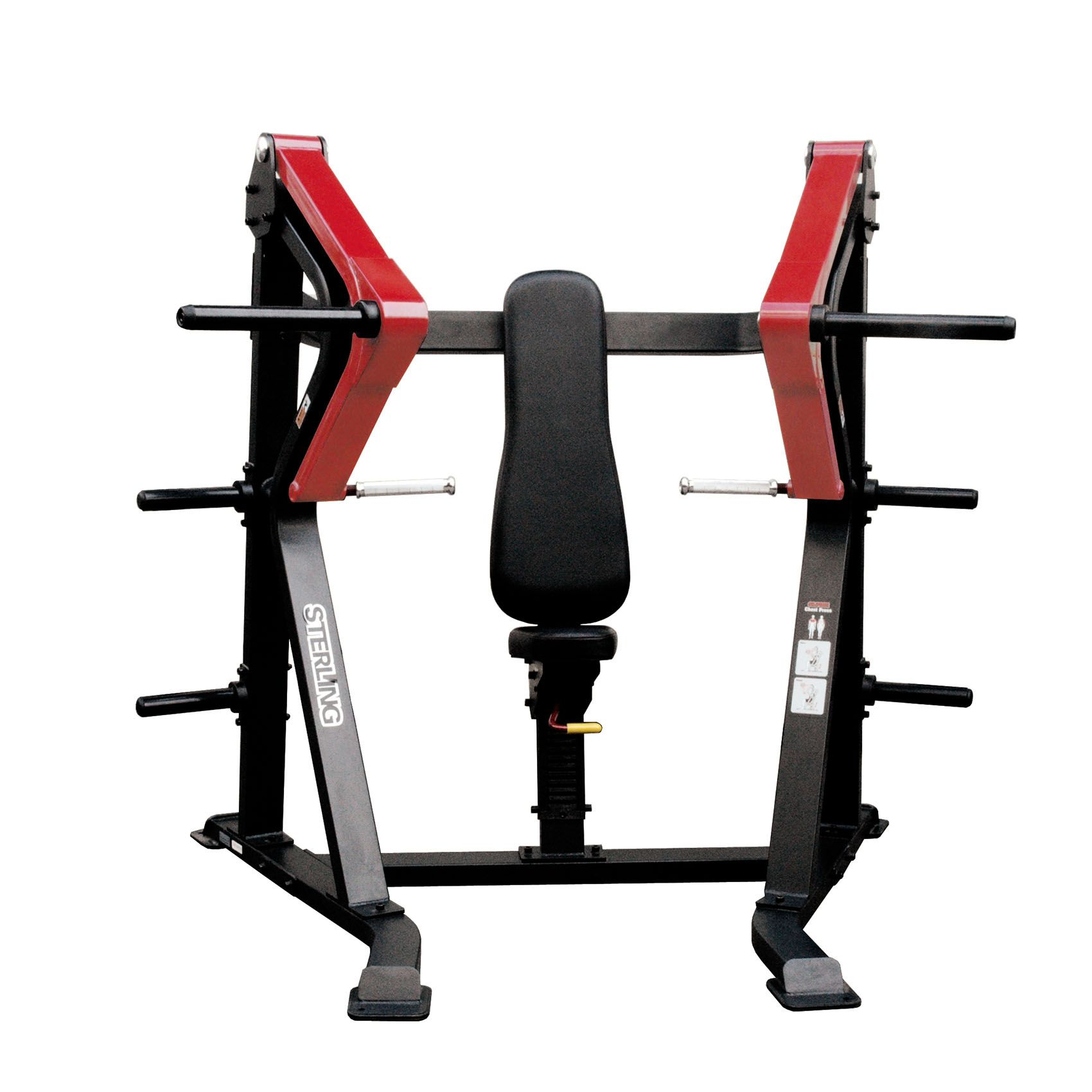 Impulse sterling plate loaded chest press for Maquinas para gym
