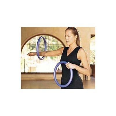 Gaiam Pilates Body Circle Kit in use