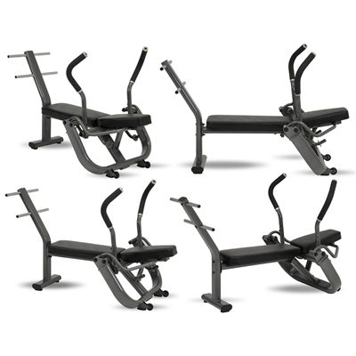Inspire Fitness Abdominal Bench - All in One Picture