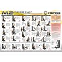 Inspire Fitness M2 Multi Gym - Exercise Chart