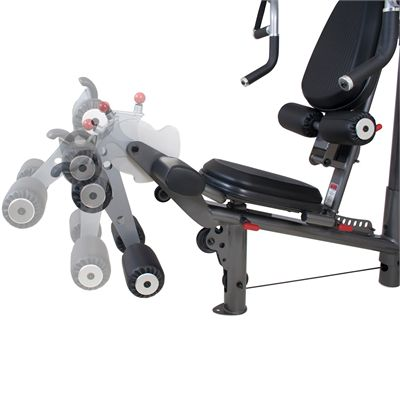 Inspire Fitness M3 Multi Gym Leg Curl And Leg Extension