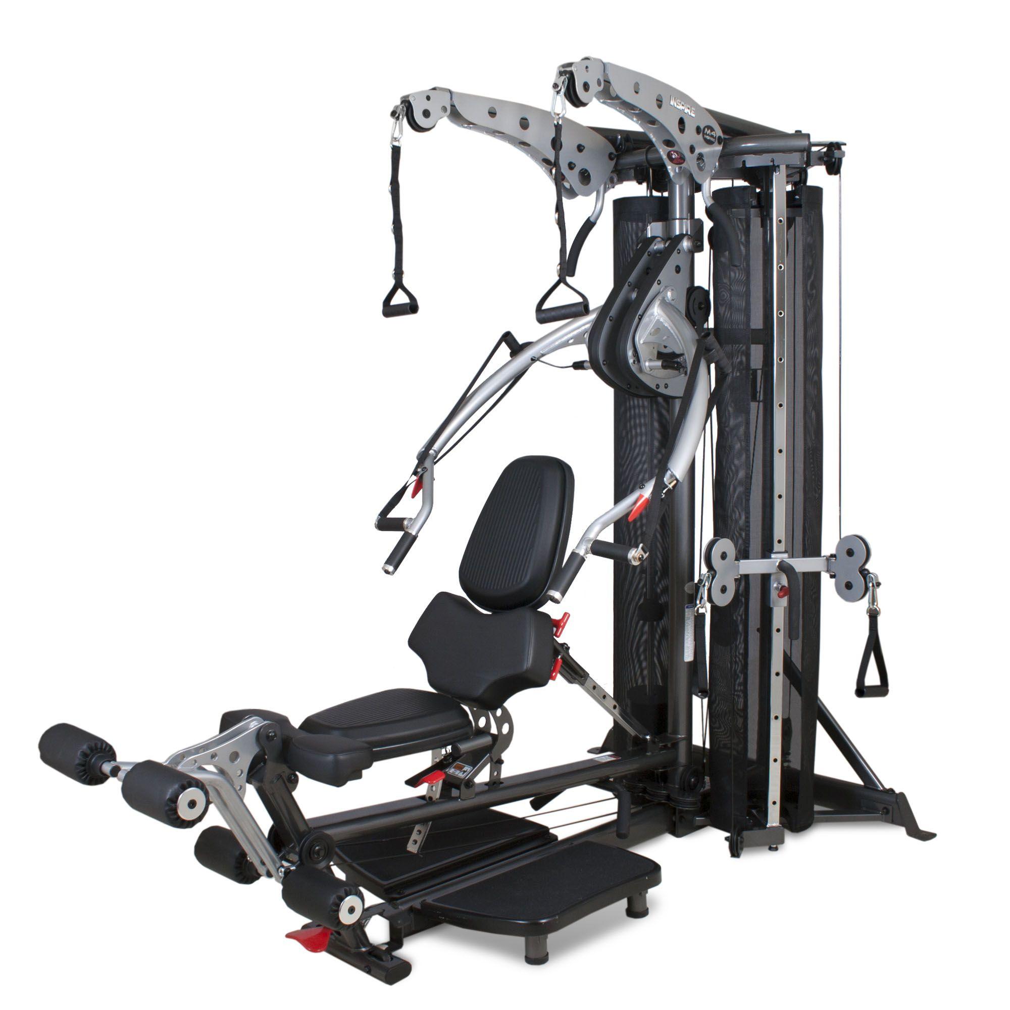 Inspire Fitness M4 Multi Gym Sweatband Com