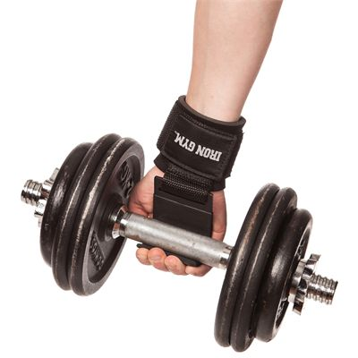Iron Gym Iron Lifting Grips - Image 1