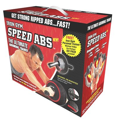 Iron Gym Speed Abs Abdominal Trainer - Box