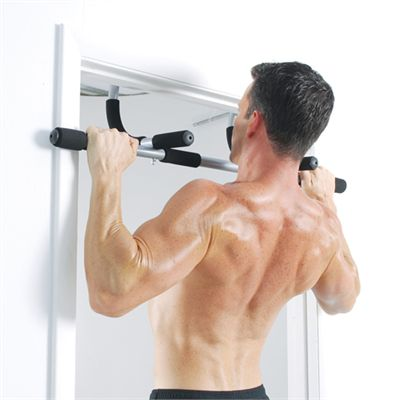 Iron Gym Total Upper Body Workout Door Gym - Exercise 1