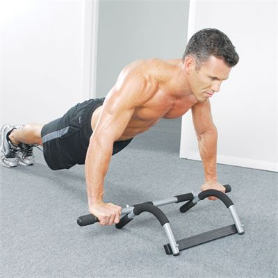 Iron Gym Total Upper Body Workout Door Gym - Exercise 2