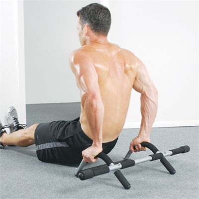 Iron Gym Total Upper Body Workout Door Gym - Exercise 3