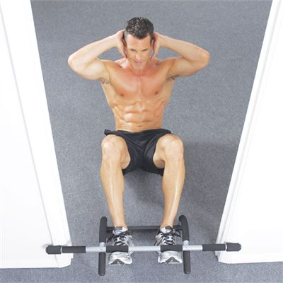Iron Gym Total Upper Body Workout Door Gym - Exercise 4
