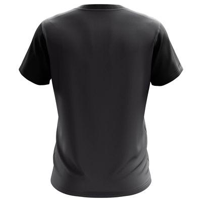Jartazi Bari Mens Poly T-Shirt - Black Back