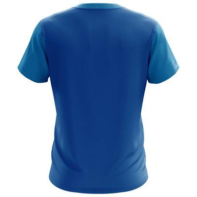 Jartazi Bari Mens Poly T-Shirt - Blue Back
