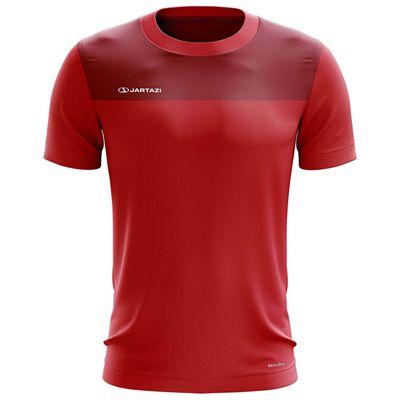 Jartazi Bari Mens Poly T-Shirt - Red