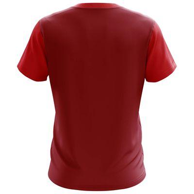 Jartazi Bari Mens Poly T-Shirt - Red Back
