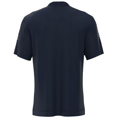 Jartazi Roma Mens Button Polo Shirt - Navy Back