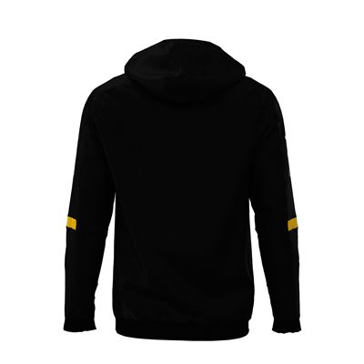 Jartazi Roma Mens Hooded Sweater - Black Back