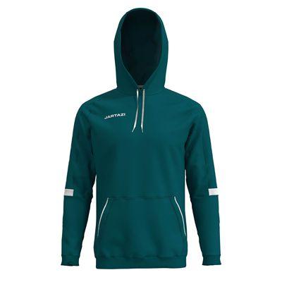 Jartazi Roma Mens Hooded Sweater - Petrol Hood