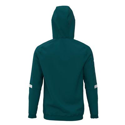Jartazi Roma Mens Hooded Sweater - Petrol Hood Back