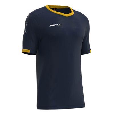 Jartazi Roma Mens Poly T-Shirt - Navy Angle