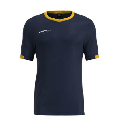 Jartazi Roma Mens Poly T-Shirt - Navy