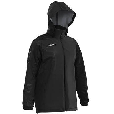 Jartazi Roma Mens Waterproof Rain Jacket - Hood Slant