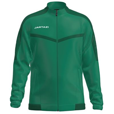 Jartazi Torino Mens Full-Zip Poly Training Jacket - Green