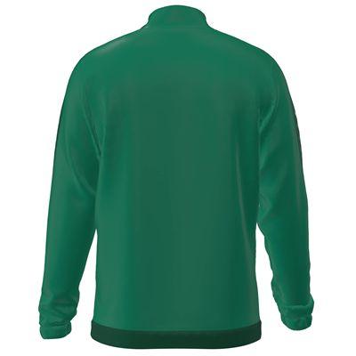 Jartazi Torino Mens Full-Zip Poly Training Jacket - Green Back