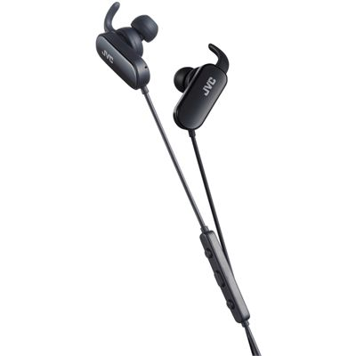 JVC Wireless In-Ear Bluetooth Sport Headphones-Black