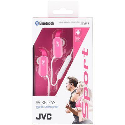 JVC Wireless In-Ear Bluetooth Sport Headphones-Pink-Box