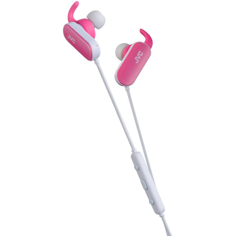 JVC Wireless InEar Bluetooth Sport Headphones  Pink