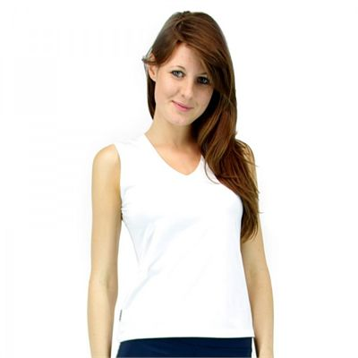Karakal Ladies CoolTec Vest Top - White